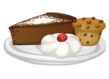 Sobremesas Imagens de Stock Royalty Free