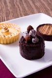 Sobremesas deliciosas Imagens de Stock Royalty Free