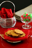 Sobremesas do Natal Foto de Stock Royalty Free