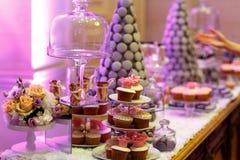 Sobremesas doces Fotos de Stock Royalty Free