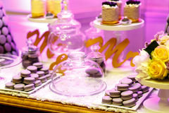 Sobremesas doces apetitosas Fotos de Stock