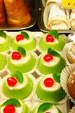 Sobremesas doces sicilianos imagem de stock