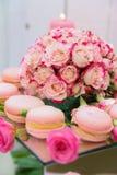 Sobremesas e bolos fotografia de stock royalty free