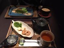 Sobremesas japonesas tradicionais fotografia de stock royalty free