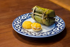 Sobremesas tailandesas Fotos de Stock Royalty Free