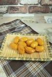Sobremesas tailandesas, doce e de noz imagem de stock royalty free