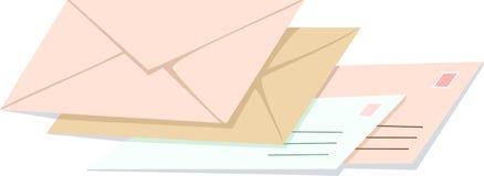 Sobres ilustración del vector