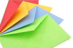 Sobres coloridos Imagen de archivo
