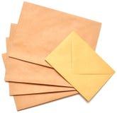 Sobres del correo Foto de archivo libre de regalías