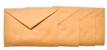 Sobres del correo Fotos de archivo libres de regalías