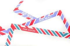 Sobres del correo aéreo Imagen de archivo libre de regalías
