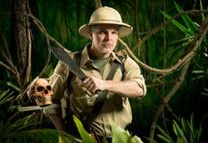 Sobrevivência na selva imagem de stock