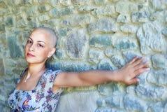 Sobrevivente do cancro da mama Imagens de Stock Royalty Free