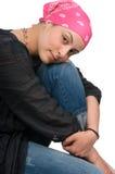 Sobrevivente do cancro da mama Imagens de Stock
