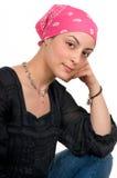 Sobrevivente do cancro da mama Fotografia de Stock Royalty Free
