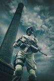 Sobrevivente nuclear do apocalipse do cargo Imagens de Stock Royalty Free