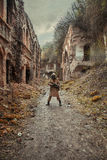 Sobrevivente nuclear do cargo-apocalipse Fotografia de Stock Royalty Free