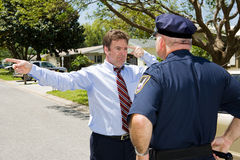 Sobriety Test - Failure Stock Photos
