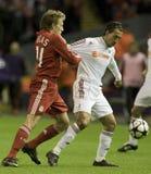 SOC: Champions League - Liverpool vs Debreceni VSC Royalty Free Stock Images