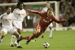 SOC: Champions League - Liverpool vs Debreceni VSC Stock Image