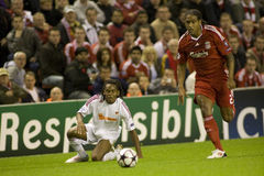 SOC: Champions League - Liverpool vs Debreceni VSC Stock Photo