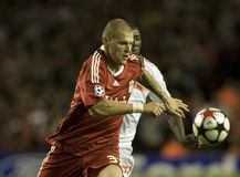 SOC: Champions League - Liverpool vs Debreceni VSC Stock Images