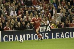 SOC: Champions League - Liverpool vs Debreceni VSC Stock Images