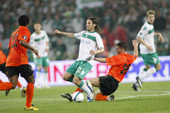 SOC: Football UEFA Cup Final Werder Bremen vs Shakhtar Donetsk Royalty Free Stock Photo