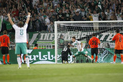 SOC: Football UEFA Cup Final Werder Bremen vs Shakhtar Donetsk Stock Images