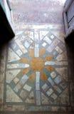 Słońca Dachówkowy wejście Zdjęcie Royalty Free