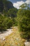 Soca / Isonzo river, Slovenia Royalty Free Stock Photo