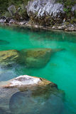 Soca river, Slovenia Stock Photo