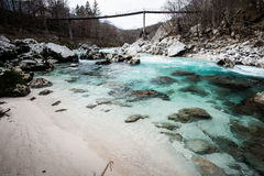 Soca river Stock Images