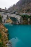 Soca rzeka obrazy stock
