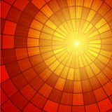 Słońca Sunburst wzór również zwrócić corel ilustracji wektora Zdjęcia Royalty Free