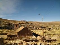 08 04 16 - Socaire kościół, Atacama pustynia, Chile fotografia royalty free