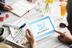 Socal Media Networking Online Connection Communication Concept Stock Photography