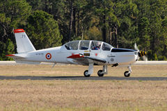 Socata TB-30 Epsilon French military trainer Royalty Free Stock Photos