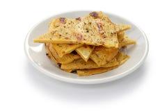 Socca, farinata, chickpea pancake Stock Photos
