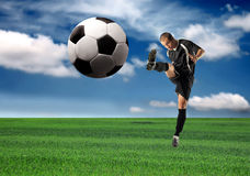 Soccer stock photography