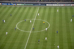 Soccer. Champions league match  -  Internazionale and Chelsea Stock Images