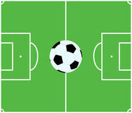 Soccer. Pitch Royalty Free Stock Photo