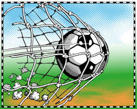 Soccer. Related  pictures. Additional format Illustrator EPS 8 file Royalty Free Stock Photos