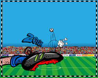 Soccer. Related  pictures. Additional format Illustrator EPS 8 file Royalty Free Stock Photography