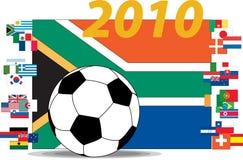 Soccer 2010 Mondial Cup. A Soccer 2010 Mondial Cup Stock Photo
