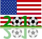 Soccer 2010 USA Royalty Free Stock Photography