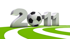 Soccer 2011 Royalty Free Stock Images