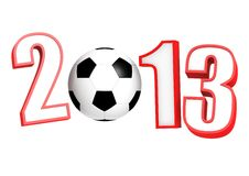 Soccer 2013 Royalty Free Stock Images