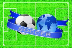 Soccer. Royalty Free Stock Photography
