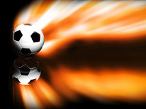 Soccer. Ball isolated on Black
